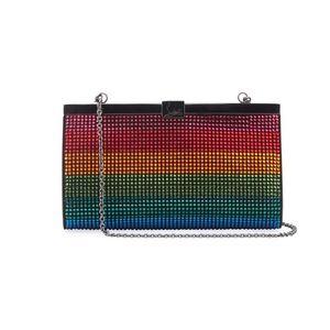 Christian Louboutin Strass Rainbow Palmette Purse